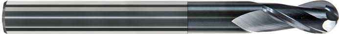 FK102 - Küresel Karbür Freze, Ekstra Kýsa