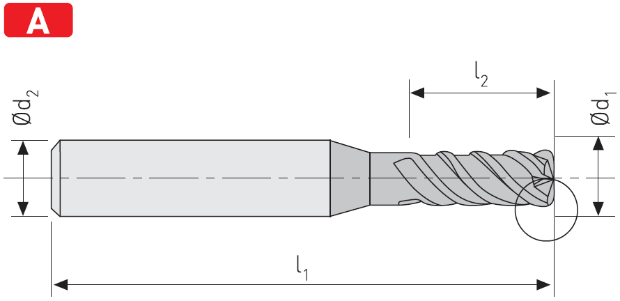 SC404H - Karbür Hýz Frezesi, HardCut